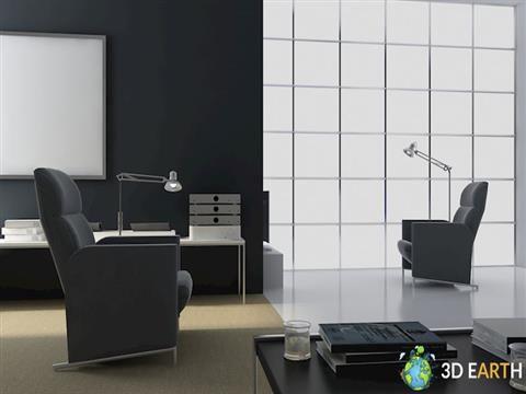 Realistic Office interior scene 2017 office scene realistic scene office