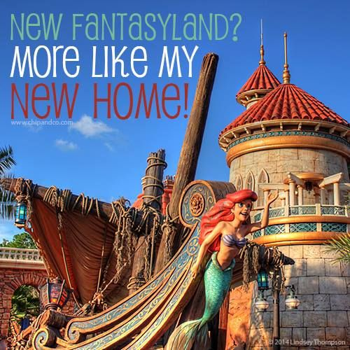 Who else is in love with the New Fantasyland?