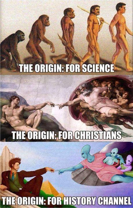 The Origin According To…