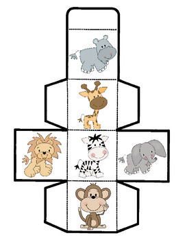 Our Zoo Animal Cube Game will help students learn about tally marks, counting, graphing, and analyzing data. Similar to other cube games with activities in our TpT Store, this game lets the children roll a cube, tally their results, and then transfer their data to a graph, which they can then answer questions by interpreting the data. There are a lot of skills rolled into one super-fun game for your young learners! $2.00