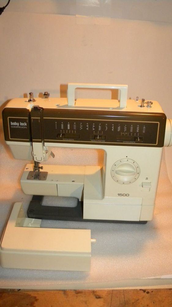 Baby Lock Sewing Machine Model  Companion 1500 Works Babylock #BabyLock