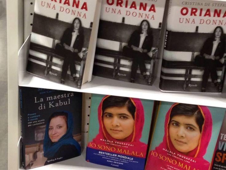 Che onore, il nostro libro tra Oriana Fallaci e Malala Yousafzai!