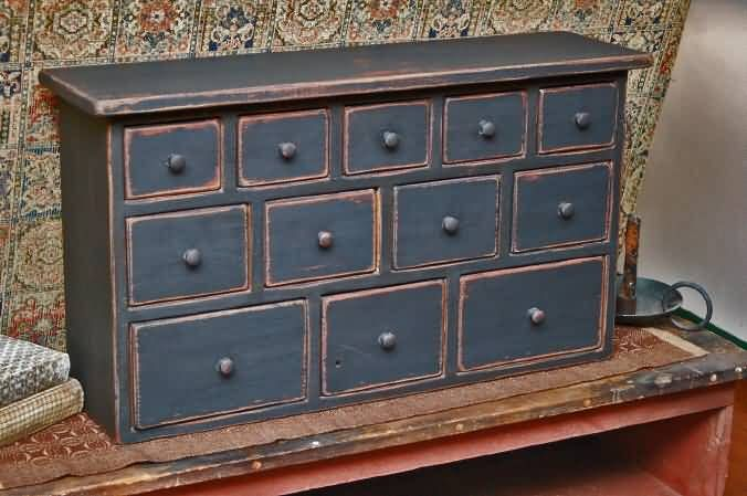 Apothecary Cabinet Repro Very Nice Primitives Folk