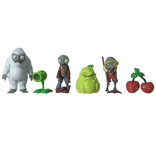 "Plants vs. Zombies 2 inch Multi-Pack Set - JazWares, Inc - Toys ""R"" Us"