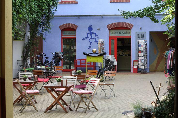Schmuck Atelier Kunsthofpassage Dresden - Einblick in den Hof