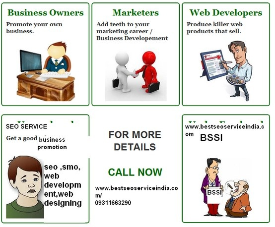 BSSI is the India's top SEO services company, based in New Delhi, India. we are a full marketing solution provider Internet, advises and implements all your web promotion strategy. This includes everything from redesigning your website, SEO services as social media optimization for the development of online applications to engage your customers