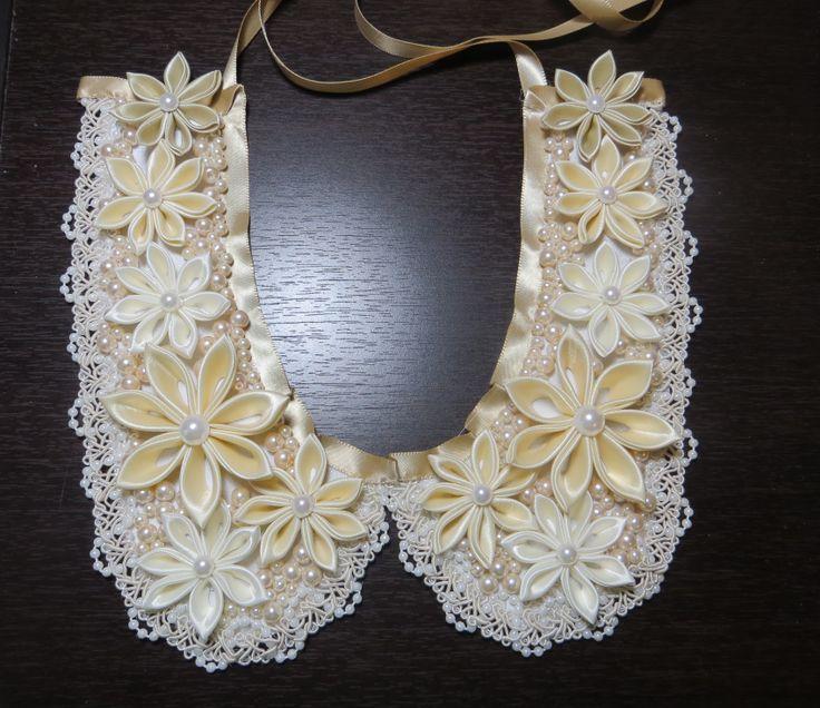 Handmade necklace-collar. $75