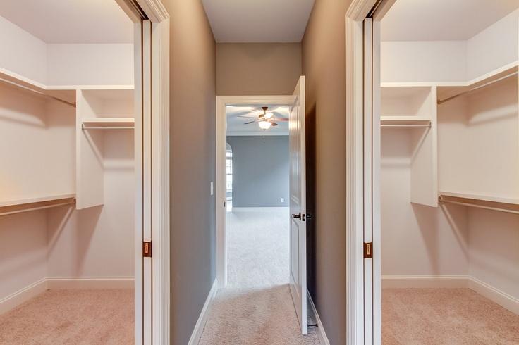 Separate Walk In Closets W/pocket Doors | CG227 | Pinterest | Pocket Doors,  Doors And Master Bedroom