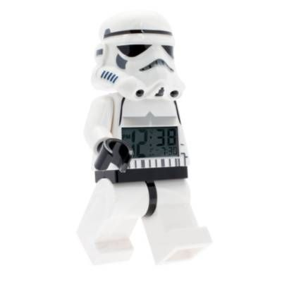 Product Image for LEGO® Star Wars™ Stormtrooper Minifigure Alarm Clock 2 out of