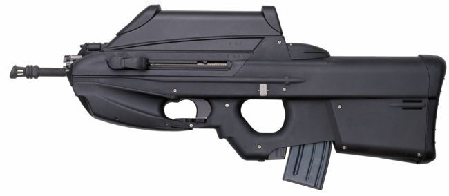 FN F2000 assault rifle, in standard configuration, with telescope sight