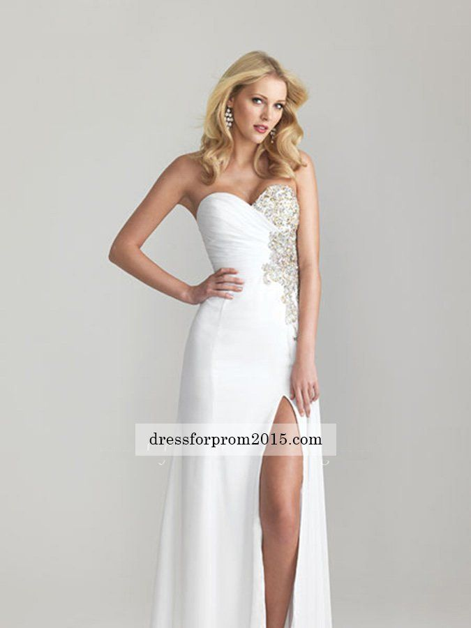 15 besten Long Prom Dresses Bilder auf Pinterest   Abschlussball ...
