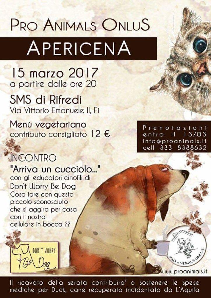 Per operare Duk aperitivo di raccolta fondi con Pro Animals e Don't Worry be Dog :http://www.qualazampa.news/event/per-operare-duk-aperitivo-di-raccolta-fondi-con-pro-animals-e-dont-worry-be-dog/