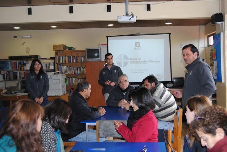 Talleres de Trabajo en Equipo y Comunicación Efectiva a los funcionarios de la I. Municipalidad de Romeral