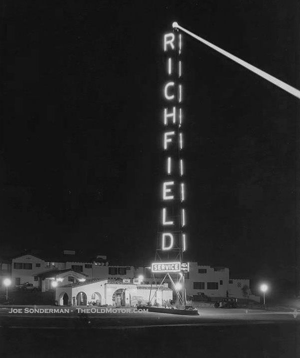 123 Best Richfield Gas Stations Images On Pinterest