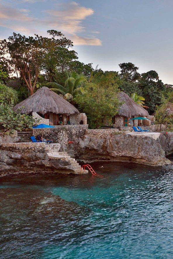 The Vogue team share their tips for a holiday to Jamaica - where to stay, what to buy, where to eat and what to see if you're travelling to Jamaica.  Location: Rockhouse Hotel, Negril