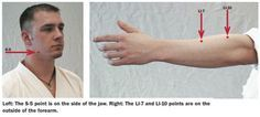Knockout Points On Face | ... the Use of Human Pressure Points in Kyusho-Jitsu Self-Defense Moves. martial arts