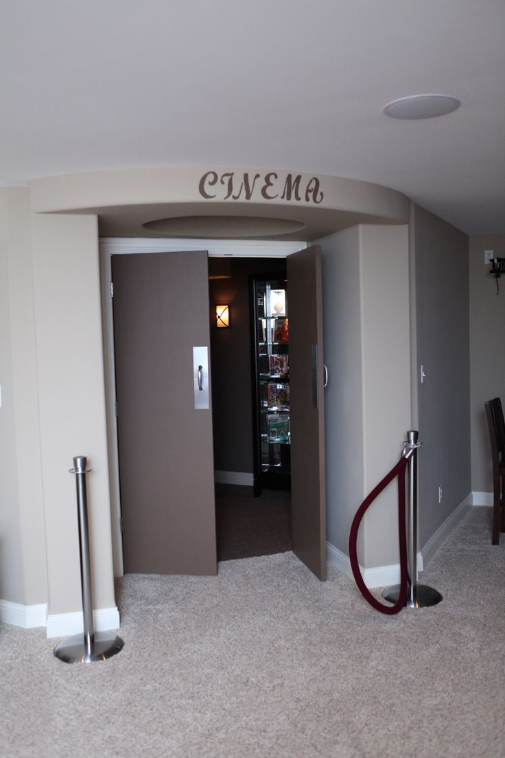 Media/theatre room www.klompcustomhomes.com