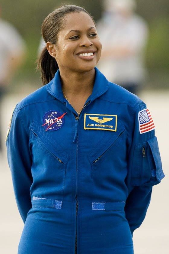 Joan Higginbotham is the third African American woman to go up into space.