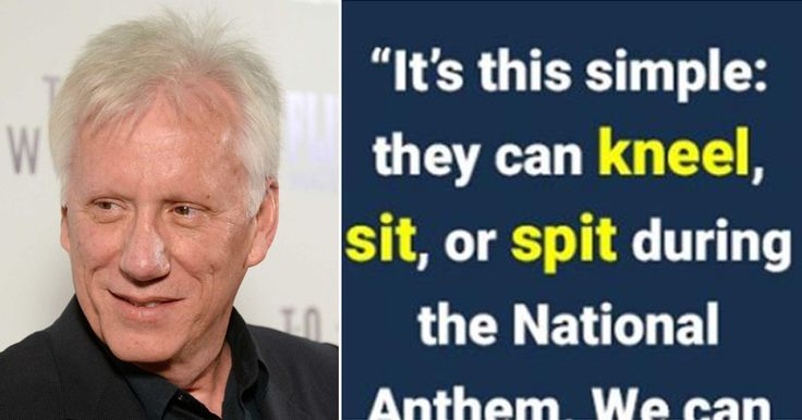 Flashback: James Woods' Tweet Destroyed the National Anthem-Kneeling Millionaire Players - Conservative Fighters
