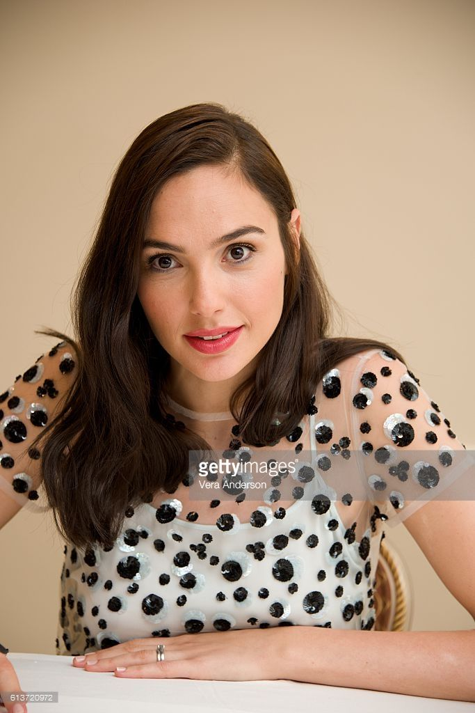 Gal Gadot at the 'Keeping Up with the Joneses' Press Conference at the Fairmont Miramar Hotel on October 8, 2016 in Santa Monica, California.