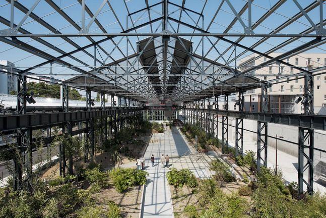 Adh doazan hirschberger foundries garden nantes q for Jardin des 5 sens nantes