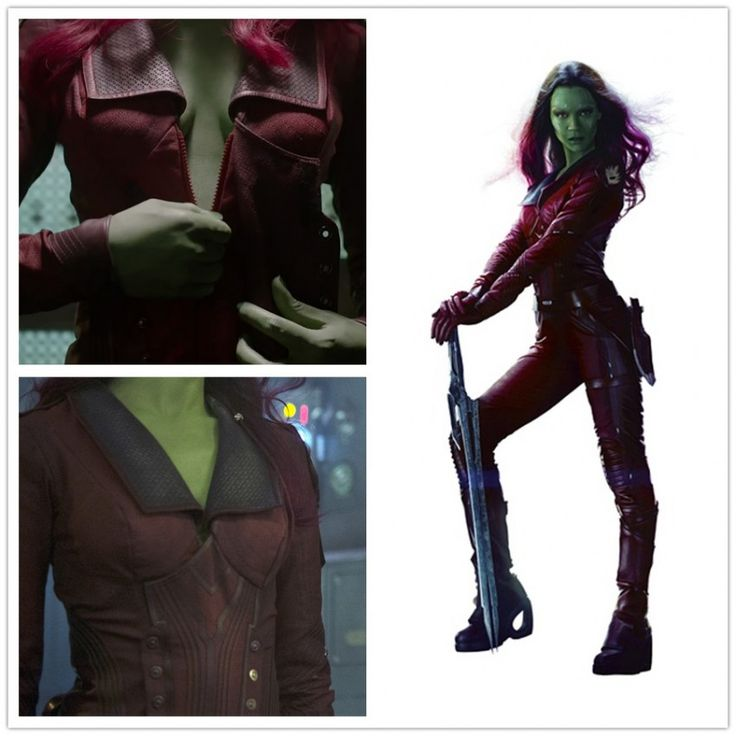 Guardians of the Galaxy Cosplay Gamora Red Costumes ...