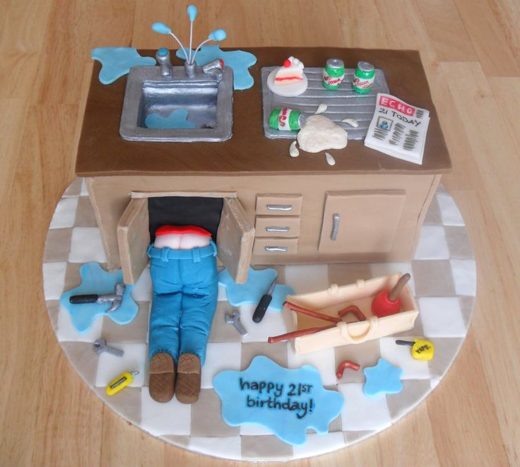 Plumber Cake By RebeccaRoseBrine On DeviantART