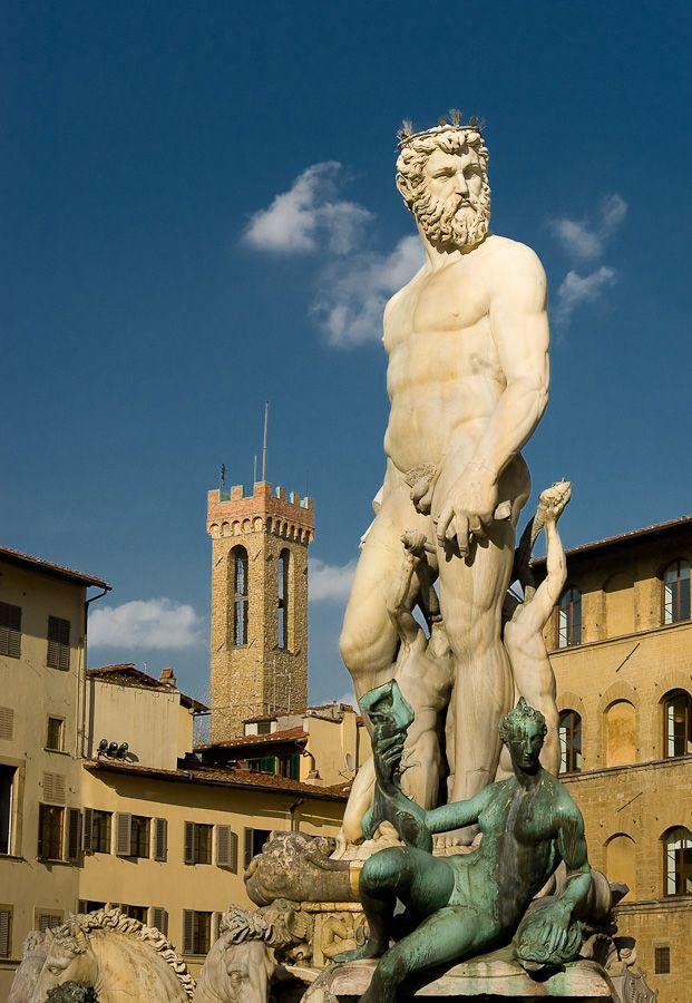 Neptune, Piazza Della Signoria, Florence