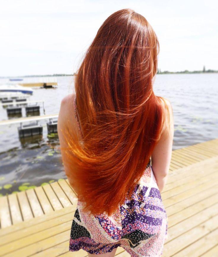 Nad Zegrzem fajnie było ale wiało jak w kieleckim XD  Fot. @mkpolkowski : #wwwlosypl #napieknewlosy #włosy #wlosy #wlosomaniaczki #wlosomania #wlosomaniaczka #włosomaniaczka #hairpassion #longhair #redhairs #redhair #redhead #hair #instahair #hairofinstagram #hairoftheday #blog #blogger #rudewlosy #rude #henna #wlosing #zalew #zegrze #lato #summer #lake