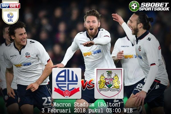Prediksi Bolton Wanderers vs Bristol City 3 Februari 2018       SBOBETSPORTBOOK  - Prediksi Bolton Wanderers vs Deportivo La Coruna 3 Fe...