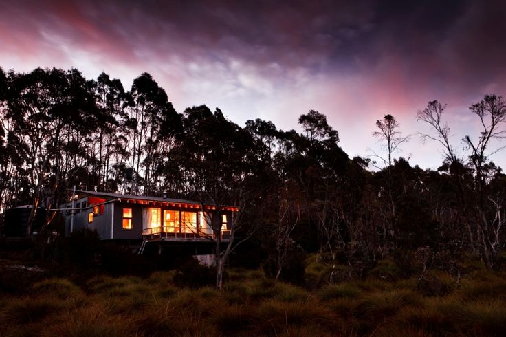 Kia Ora Hut on the Overland Track
