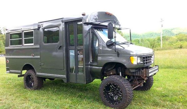 4x4 Bus For Sale - Ford Powerstroke
