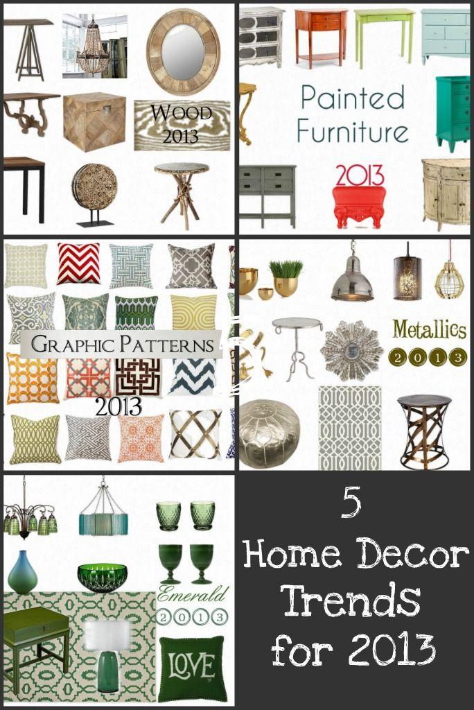 5 Home Decor Trends For 2013 Http Blog Homes Com