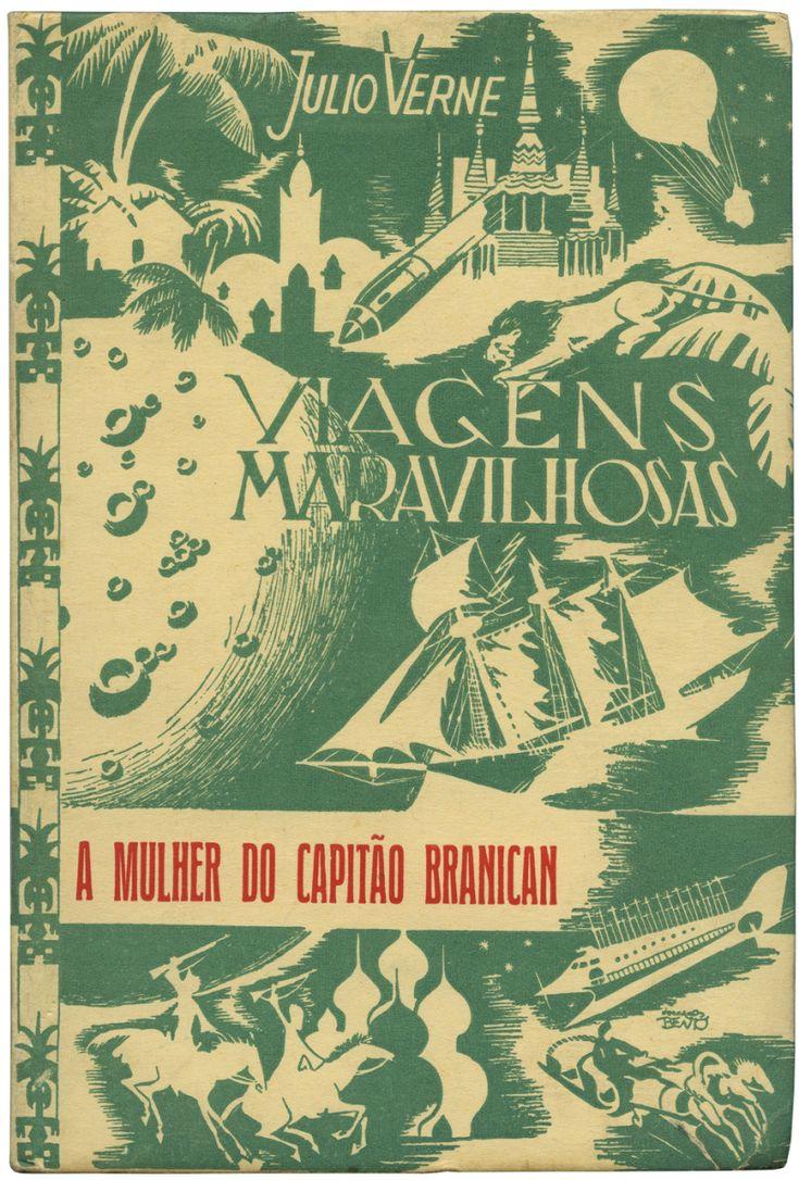 Julio Verne capa livro