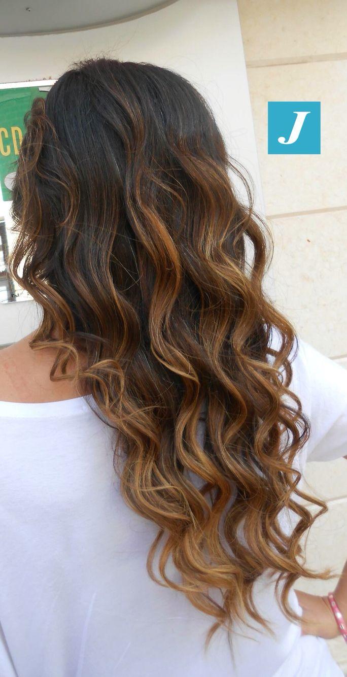 Soft Waves e Degradé Joelle #cdj #degradejoelle #tagliopuntearia #degradé #igers #musthave #hair #hairstyle #haircolour #longhair #ootd #hairfashion #madeinitaly #wellastudionyc