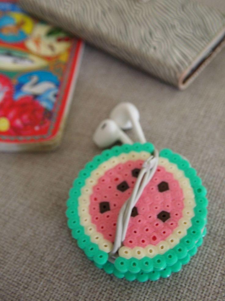 Kopfhörer-Halter mit Hama Bügelperlen