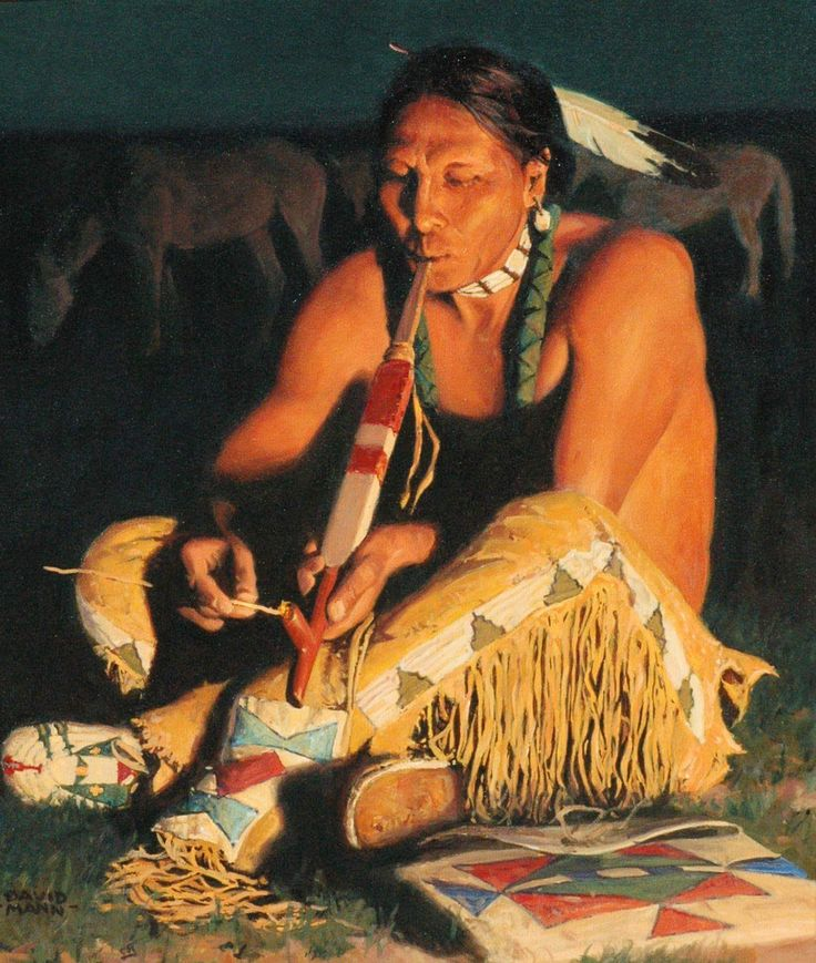 Дэвид Манн. Дым лакота