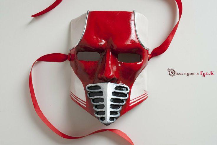 Dieselpunk Bauta masquerade mask