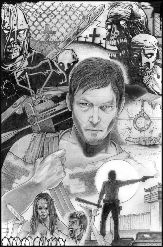 Walking Dead by GraphixRob.deviantart.com on @deviantART