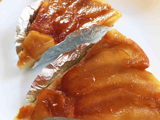 簡単!HM!フライパンりんごタルトタタンの画像