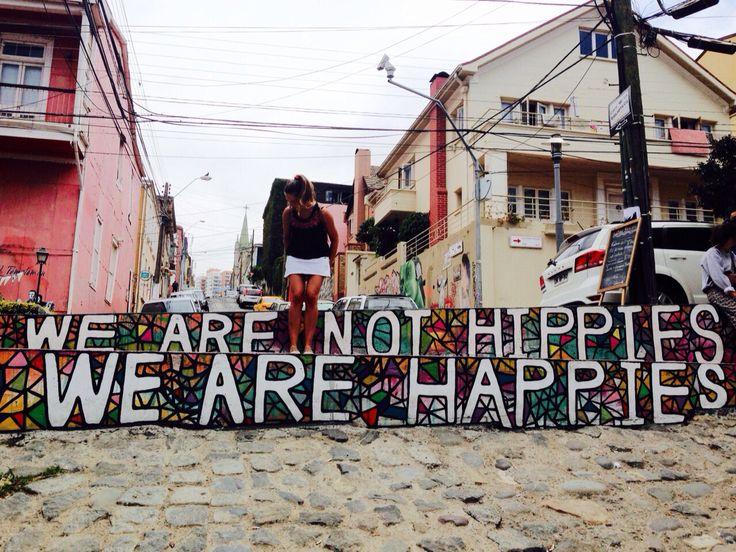 Calle Templeman Valparaíso Chile