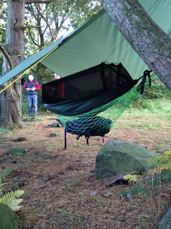 This is a tenth wonder Horner hammock and tarp