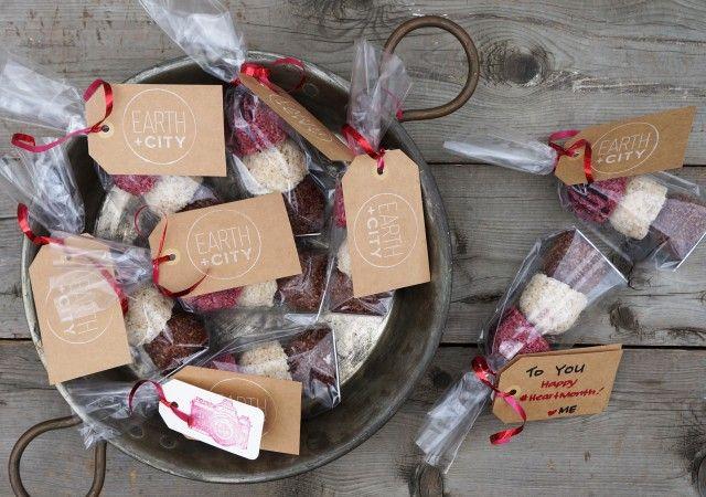 Celebrate Love  #candygram #ValentinesDay #vegan #glutenfree #treats #sweets #coconut #raw #dessert #gifts