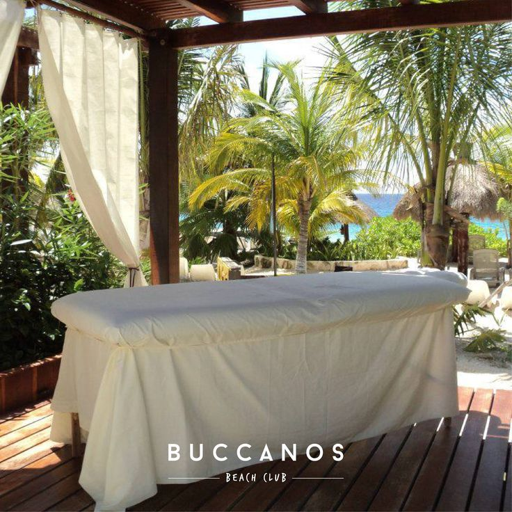 Keep calm and get a massage. ✨🌴☀ #buccanoslife