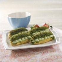 GREEN TEA CHOUX SABLE http://www.sajiansedap.com/mobile/detail/17041/green-tea-choux-sable