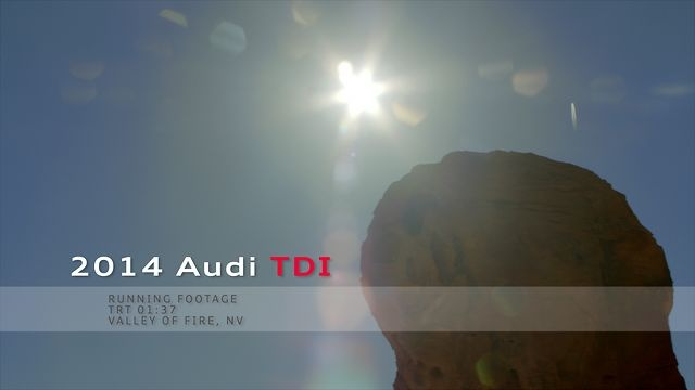Audi TDI Model Introduction  Filmed at Valley of Fire, NV Camera: Arri Alexa Lens: Optimo 24-290