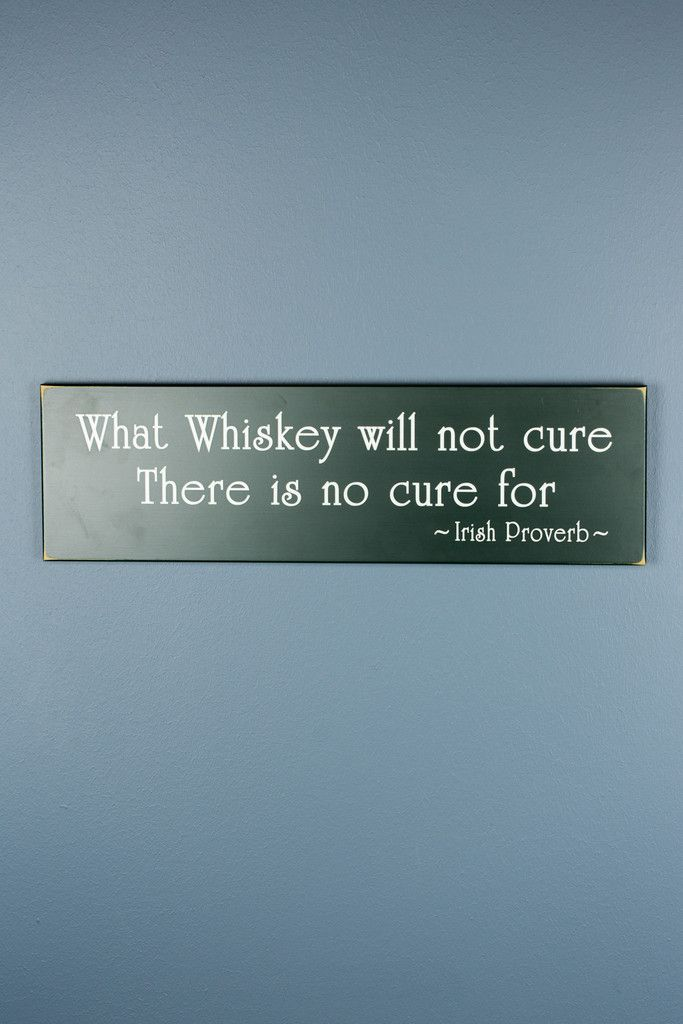 What Whiskey Will Not Cure Wood Decor $40