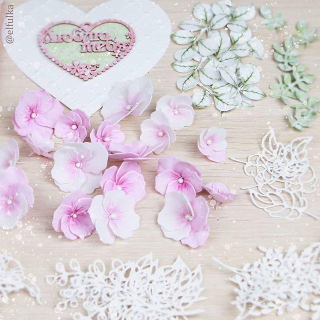 открытка своими руками цветы фоамирана