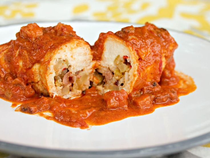 Another stuffed #chicken recipe, this time with a Creole twist. #recipe