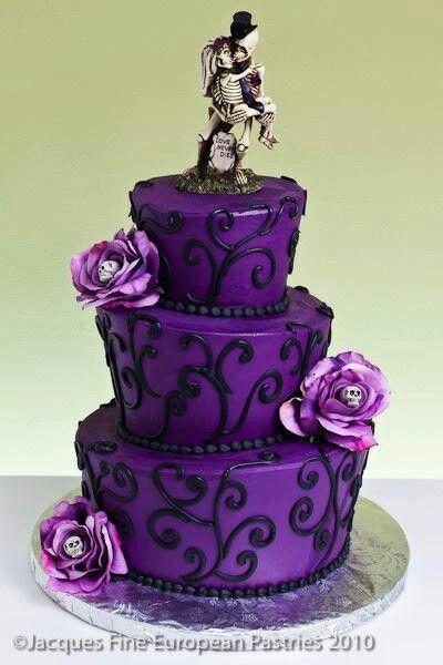 Purple And Black Cake Viktoriya Violet Pinterest Purple Cake And